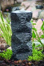 Aquascape Stone Fountain - Stone Rough Twisted Column - EXTRA FREIGHT CHARGES APPLY
