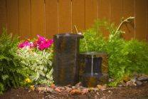 Aquascape Stone Fountain - Set of 3 Keyed Basalt Columns - EXTRA FREIGHT CHARGES APPLY