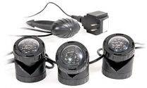Atlantic Water Gardens LED Pond Light, 3-Light Set