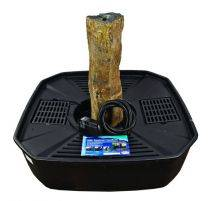 "Aquascape Stone Fountain - Natural Mongolian Basalt Kit, 30"" - EXTRA FREIGHT CHARGES APPLY"