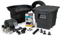 Atlantic Water Gardens 11' x 11' Professional Pond Kit, Medium, with TW4800 Pump