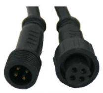 4 PIN - RGB Male to Female Cable - 3M - 22 AWG
