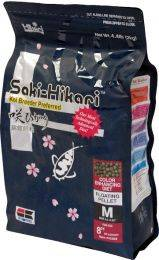 Hikari Saki-Hikari Koi & Fish Food Diet - Colour Formula - Medium Pellets - 4.4 lbs.