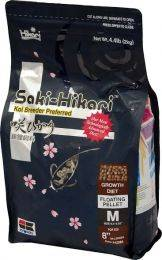 Hikari Saki-Hikari Koi & Fish Food Diet - Growth Formula - Medium Pellets - 4.4 lbs.
