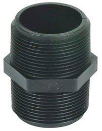 "Male Pipe Thread Nipple - 1"" MPT X 1"" MPT"