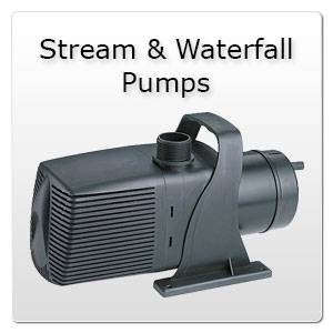 Stream and Waterfall Pumps